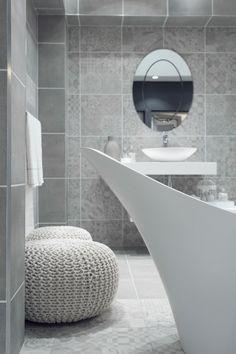 Soft Colors, Colours, Vintage Romance, Bathroom Inspiration, Bathtub, Design Ideas, Interiors, Interior Design, Architecture