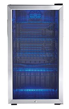 Discounted Danby 120 Can Beverage Center, Stainless Steel DBC120BLS