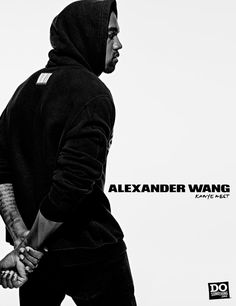 Kanye West by Alexander Wang x DoSomething (Campaign)