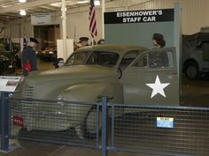 1942 Packard Clipper General Eisenhower's Staff Car