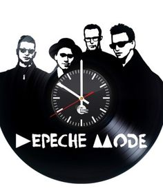 Depeche Mode Vinyl Record Wall Clock Home Design