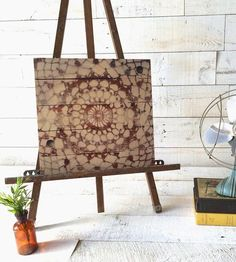 Vintage Lace Wood Art No. 9 by Heather Roth on Scoutmob Shoppe