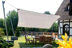 Non-cassette patio awnings
