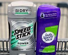 Speedstick/ Lady Speedstick Deodorant only $0.15 each at Dollar General.