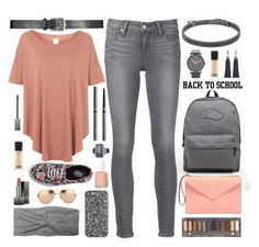 """""""The First Day Of School"""" by truthjc ❤ liked on Polyvore"""