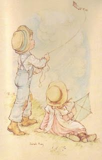 LOVE'S PICTURES: BEM ME QUER...bY: SARAH KAY Sarah Key, Holly Hobbie, Strawberry Shortcake Cartoon, Go Fly A Kite, Creative Pictures, Vintage Crafts, Whimsical Art, Cute Illustration, Vintage Images