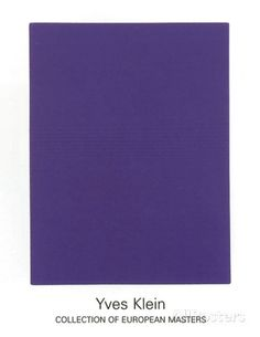 IKB65, 1960 Serigraph by Yves Klein at AllPosters.com
