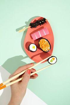 art direction | sushi still life:  on We Heart It