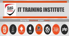 You can get a chance to learn various IT courses at SAG Academy!