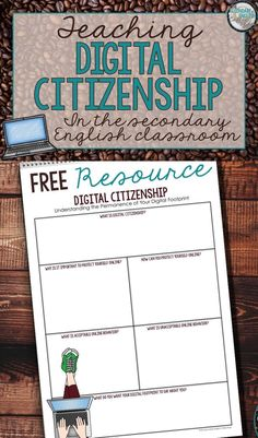 The five things every teacher should know about teaching digital citizenship!