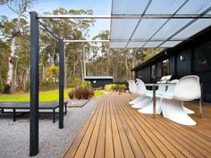spacious and modern outdoor space in Victoria, Australia