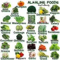 Alkaline foods are foods that raise the the amount of oxygen that your blood takes in. The most alkalizing foods are RAW green leafy vegetables, non-sweet fruits and (wheat) grasses. #Christmas #thanksgiving #Holiday #recipe #food