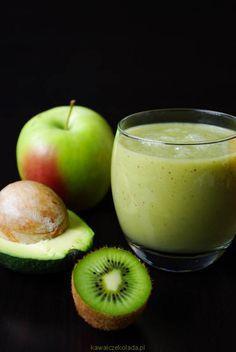 Kiwi Smoothie, Smoothie Drinks, Smoothie Diet, Easy Smoothies, Fruit Smoothies, Vegan Foods, I Foods, Smothie, Keto Breakfast Smoothie