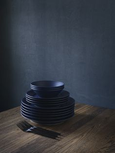 a passion for blue - Royal Copenhagen blue fluted serie