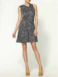THML Clothing Black Print Dress | Piperlime