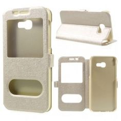 Cheap for samsung galaxy, Buy Quality samsung cover directly from China samsung galaxy cover Suppliers: Wonderfultry For Galaxy 2017 Case Capa Dual View Silk Texture Window PU Leather Cover For samsung Galaxy 2017 Galaxy A5, Samsung Galaxy, Mobiles, Leather Case, Pu Leather, Android, Gold Price, Galaxies, Shells