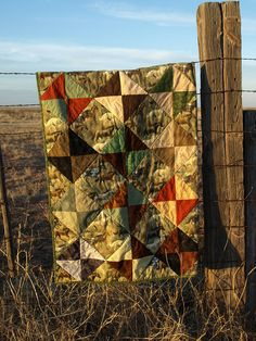 Horse Quilt by Dirt Road Quilter, via Flickr