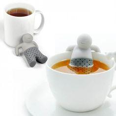 Infusor de té Mister Tea - Tienda de regalos originales QueLoVendan.com