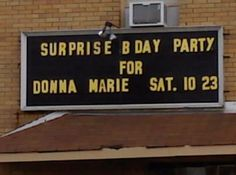 As Donna Marie drives by