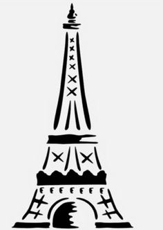 Thick Cardboard 3D Eiffel Towers Can be made in different