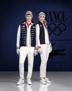 Lacoste French Olympic team 2014 - As a brand that does both athletics and fashionable clothing, it's obvious that Lacoste was the right option to mix both sport and stylishness. The French team will easily be the belle of the ball.