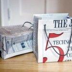 ♥ Gazete kağıdından el çantası nasıl yapılır ? ♥  ♥ HOW TO MAKE GIFT BAGS FROM NEWSPAPER ♥    Detaylı bilgi ve resimler için ( FOR MORE INFO & PICTURES ) : www.designcoholic.com/mobilya-ve-aksesuar-tasarimlari/gazete-kagidindan-el-cantasi-nasil-yapilir.html