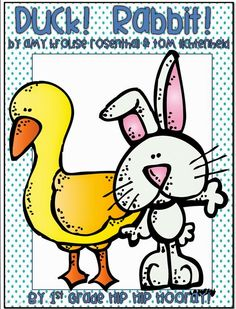 Is it a Duck or is it a Rabbit? Let your class decide. Enjoy this delightful story by Amy Rosenthal. Decorate Data Collection Write a paragraph Writing with senses Writing using text and recall. Michele Also see YES DAY Packet. Kindergarten Reading Activities, Literacy Activities, Fact And Opinion, Opinion Writing, Paragraph Writing, Pond Animals, Duck Or Rabbit, Anchor Books, Toms
