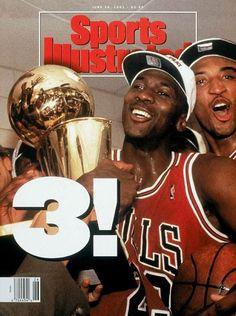 Sports Magazine Covers: Michael Jordan