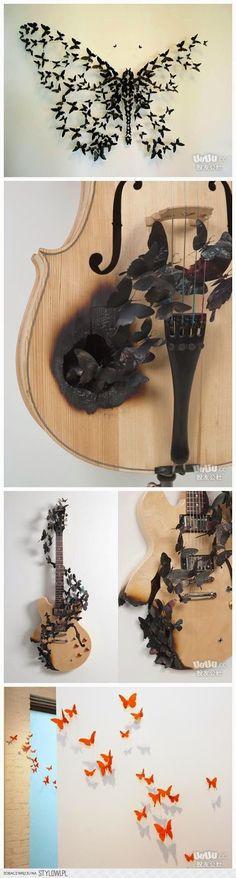 Be Crafty: butterfly craft diy ideas