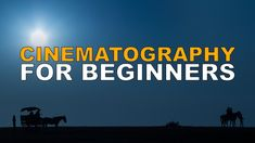 Cinematography Tutorial for Beginners. Make Great Videos from Day One! - YouTube