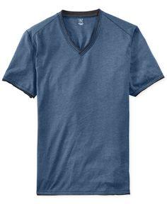 INC International Concepts Cabo V-Neck T-Shirt