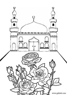 this page has a bunch of printable mosques and a few work sheets i dont