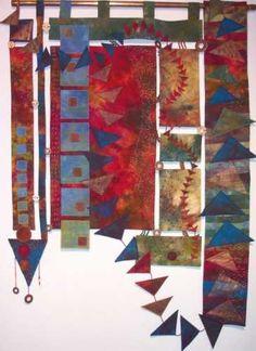 Anna Hergert - deconstructed quilt