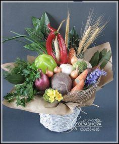Gallery.ru / Фото #3 - Букеты из овощей и фруктов - nekto1
