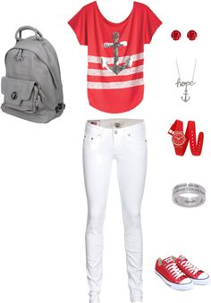 """BACK TO SCHOOL WEAR GEAR"" by lindsey359 on Polyvore"