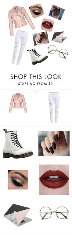 """Taehyung 'Run' mv inspired look"" by cat-not-today ❤ liked on Polyvore featuring Dr. Martens"