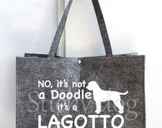 T-shirt Lagotto Romagnolo dog silhouette Lagotto Romagnolo, Dog Silhouette, Vinyl Cutter, Reusable Tote Bags, Dogs, T Shirt, Etsy, Tee Shirt, Pet Dogs