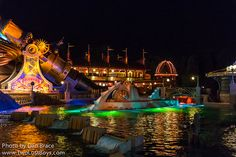 Discoveryland by night