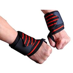 iiSPORT Weight Lifting Wrist Support CrossFit Wrist Wraps for Power Lifting Dead Lifts Pushups Bench Press  Heavy Duty Wrist Support  Stability ** See this great product.(This is an Amazon affiliate link and I receive a commission for the sales)