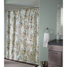 M Style Lotus Shower Curtain - Shower Curtains at Hayneedle $39.99