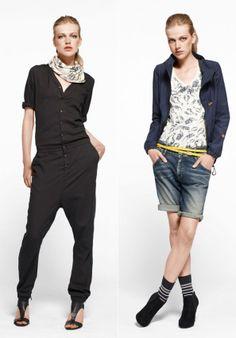 G-STAR RAW Women LookBook Summer 2011