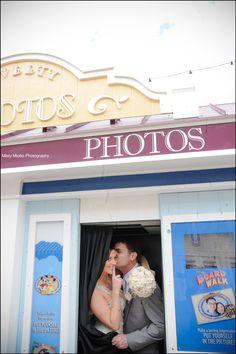 Walt Disney World BoardWalk Wedding Photos: Elyssa + Aaron