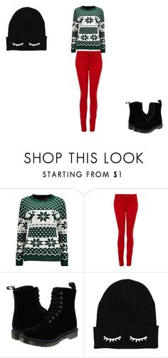 """""""Winter winter winter/..."""" by nora-simpson on Polyvore featuring Paige Denim and Dr. Martens"""