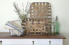 Tobacco Basket | Wall Decor | Bushel Basket