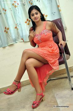 Meghasri-in-short-gown-stills-(4)