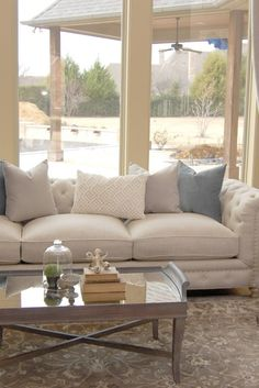 Great french country living rooms just on mafa homes Diy Living Room Furniture, Cozy Living Rooms, Living Room Decor, Interior Design Images, Interior Design Inspiration, Design Ideas, French Country Living Room, Trendy Home Decor, Unique House Design