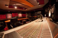 Thomas O. wants to own his own music company. The studio pictured is owned by Dave Aron, a multi-platinum recording engineer, live and studio mixer, record producer and musician in CA. Music Studio Room, Home Studio, Employee Goals, Recording Studio Setup, Dj Decks, Santa Monica Blvd, Music Studios, Smoke Shops, Acoustic Panels