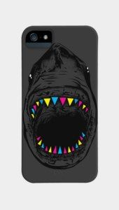 fancy shark Phone Cases