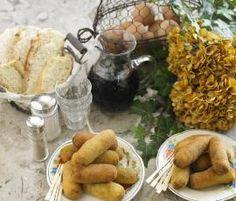 Receita Croquetes de bacalhau com azeitonas por Equipa Bimby - Categoria da receita Pratos principais Peixe