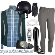 Requested dapple gray outfit by adastaley on Polyvore featuring Bling Jewelry and Ralph Lauren